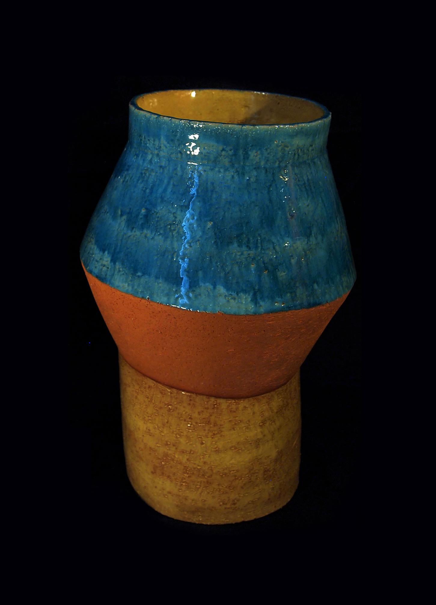Vaso in Ceramica Serie Cactus Terra