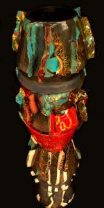 Scultura in ceramica in Terzo Fuoco