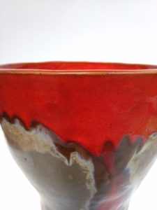 Vaso in Ceramica Serie Flow