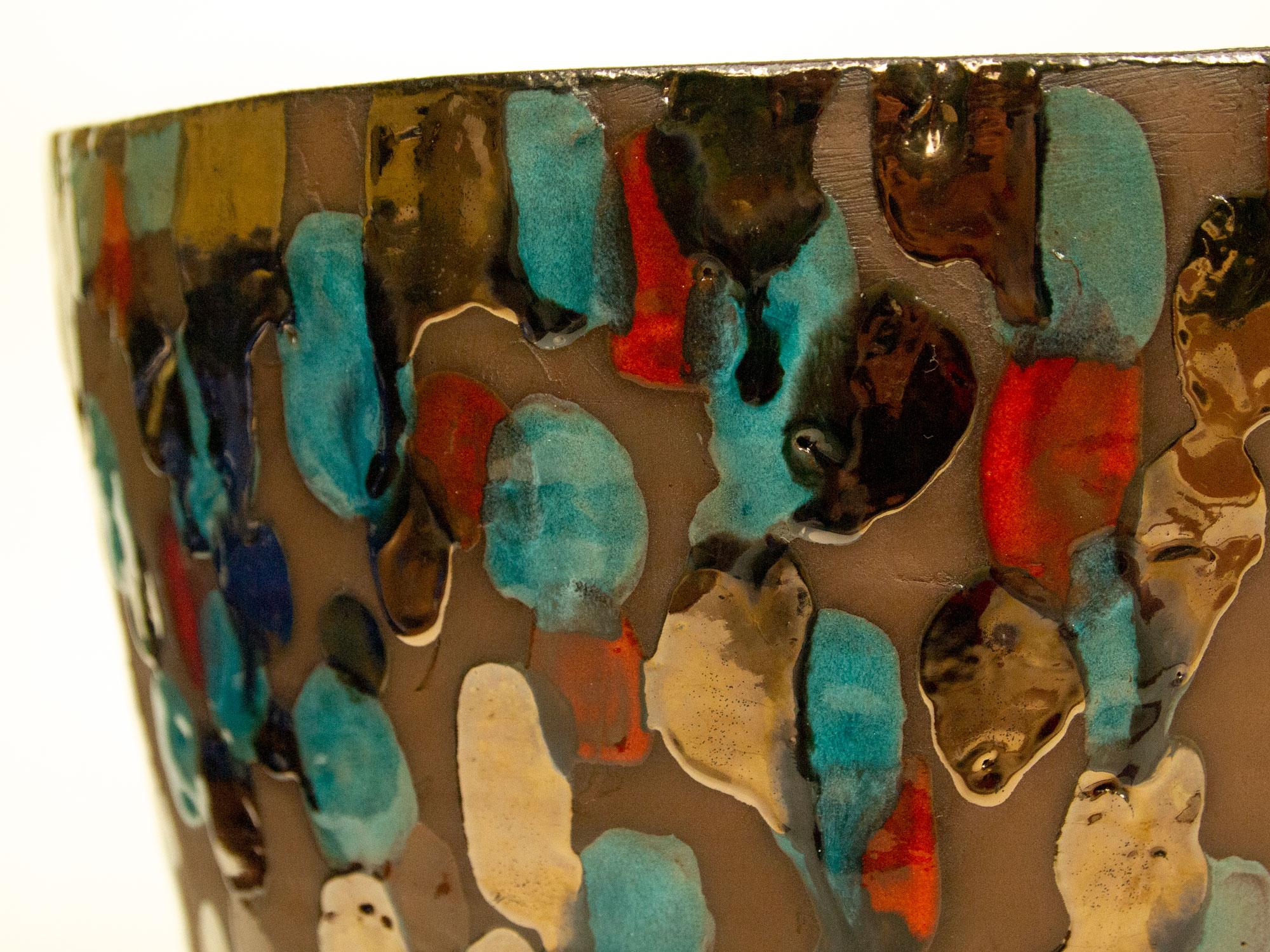 particolare Vaso in Ceramica serie Dots