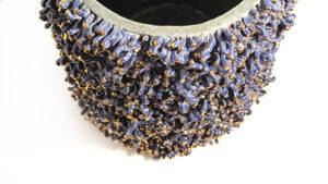Cilindro in Ceramica Serie Licheni