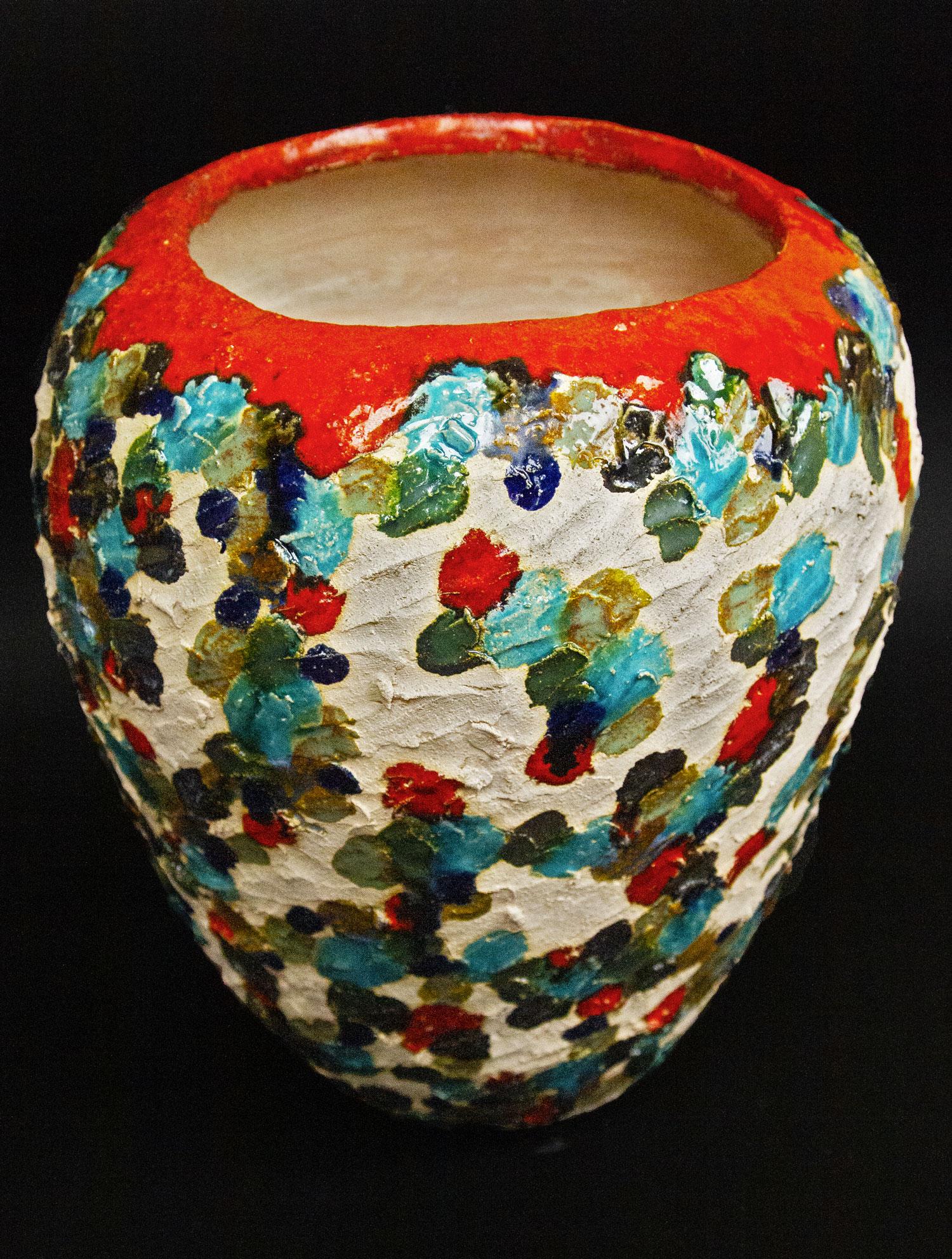 Vaso in Ceramica Serie Dots