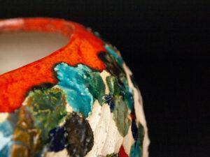 particolare da Vaso in Ceramica Serie Dots
