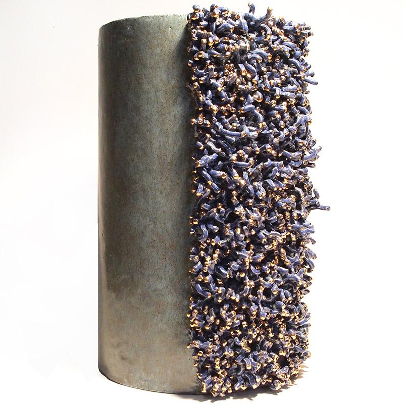Scultura in ceramica Licheni