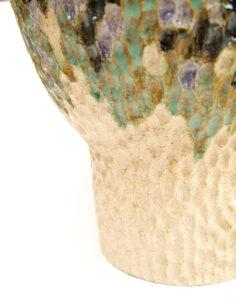 particolare da vaso in ceramica Beez