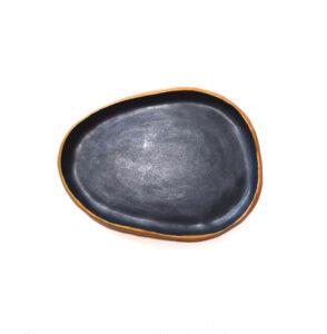Piatto in ceramica Ardesia