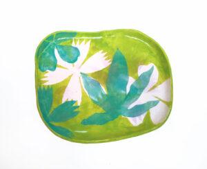 Piatto in Ceramica Evergreen